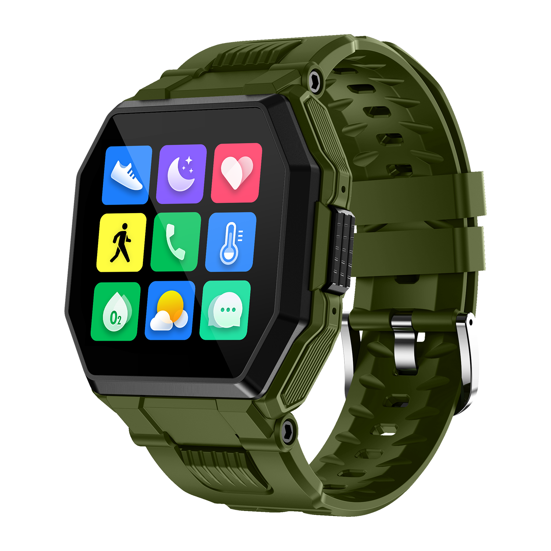 Outdoor Bluetooth Call Sports Watch Music Pedometer Heart Rate Blood Pressure Blood Oxygen Health Waterproof Smart Bracelet