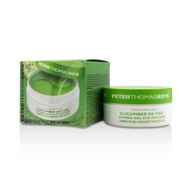 PETER THOMAS ROTH Cucumber De-Tox Hydra-Gel Eye Patches-30 pairs