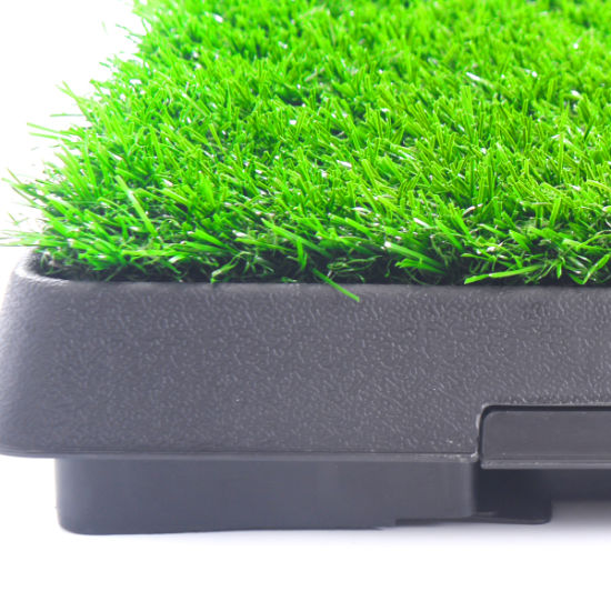 dropship Pet toilet dog potty artificial turf environmental protection with drawer
