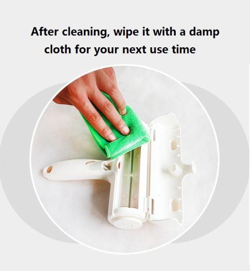 dropship Pet Hair Cleaning Tool Useful Cloth Furniture White Lint Roller Dog Cat Hair Remover Rollers