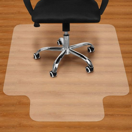 """dropship 36""""X48"""" Clear PVC Carpet Rug Protective Chair Mat Pad For Floor Office Rolling Chair RT"""