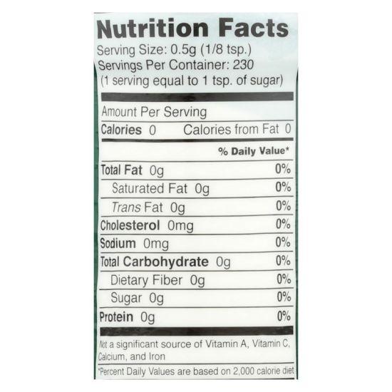 dropship Sweet Leaf Stevia Sweetener - 4 oz