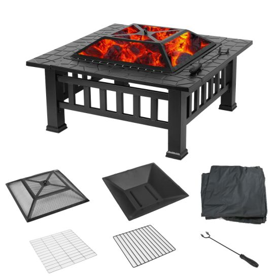 dropship Upland Fire Pit with Cover