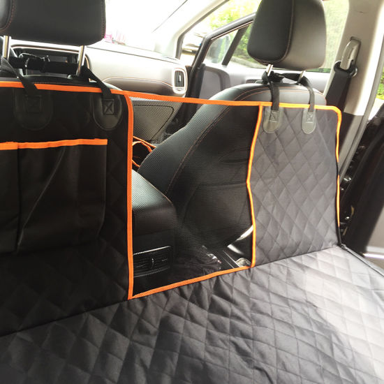 dropship Dog Car Seat Covers for Back Seat of Cars/Trucks/SUV, Waterproof Dog Car Hammock with Mesh Window, Durable Anti-Scratch Nonslip Machine Washable Pet Car Seat Cover