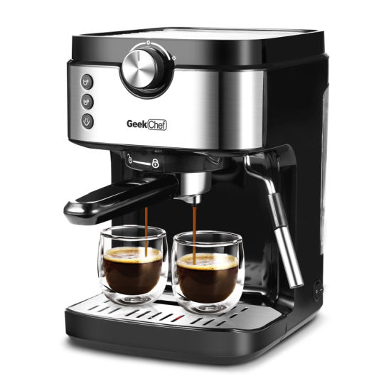 dropship Espresso Machine 20 Bar Coffee Machine With Foaming Milk Frother Wand, 1300W High Performance No-Leaking 900ml Removable Water Tank Coffee Maker For Espresso, Cappuccino, etc.Banned on Amazon
