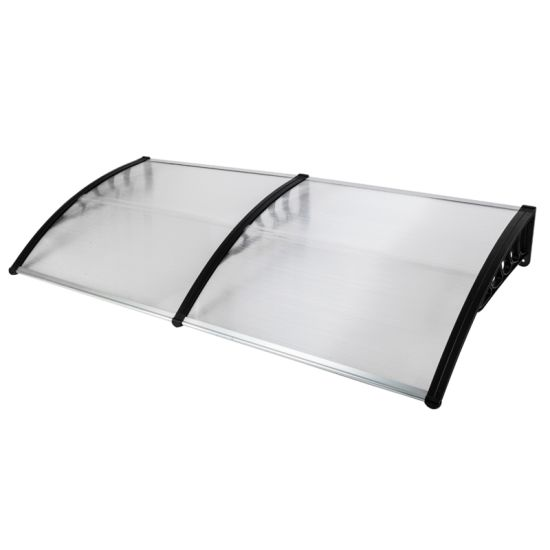 """dropship 80""""x 40"""" Outdoor Front Door Window Awning Patio Canopy Rain Cover UV Protected Eaves RT"""