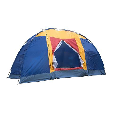dropship Bosonshop Outdoor 8 Person Camping Tent Easy Set Up Party Large Tent for Traveling Hiking With Portable Bag, Blue
