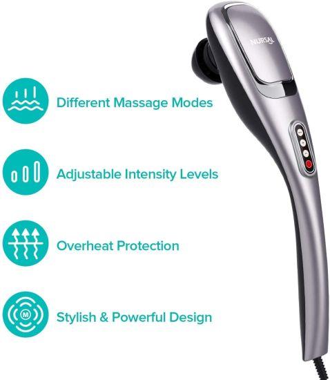 dropship NURSAL Handheld Deep Tissue Percussion Massager with 5 Massage Modes