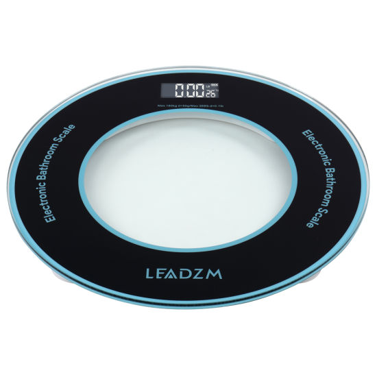 dropship LEADZM 180Kg/50g Compact Disc Model Personal Weighing Bathroom Scale RT