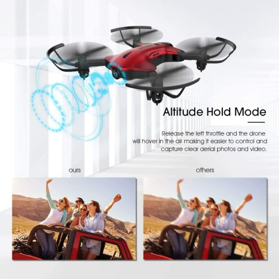 dropship Drone for Kids, Drocon Spacekey FPV Wi-Fi Drone with Camera 1080P FHD